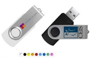 clés USB publicitaires twister