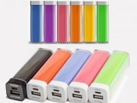 Power bank publicitaire PL01-A - 2200 et 2600 mah