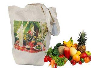 sac cabas coton avec marquage