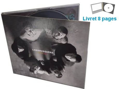 duplication cd digipack livret
