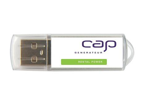 Clé USB publicitaire CANVAS