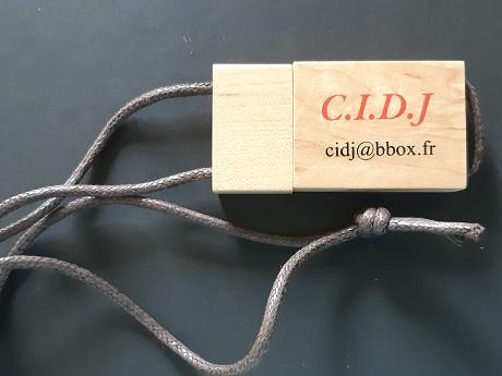 Clé USB publicitaire Bois CORDA