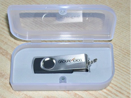 Cle USB publicitaire TWISTER