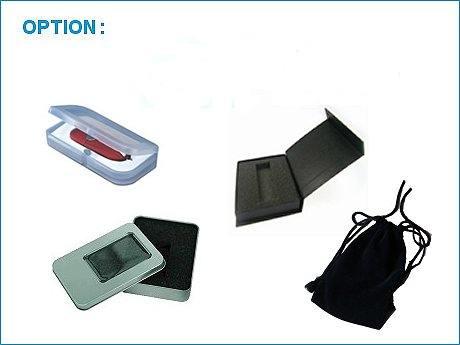 accessoires cles USB en verre