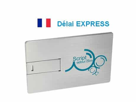 Clé USB carte ALU express