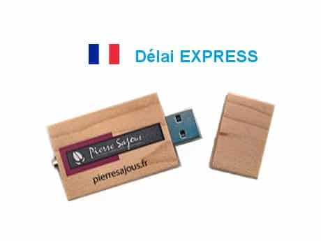 Clé USB Express Bois