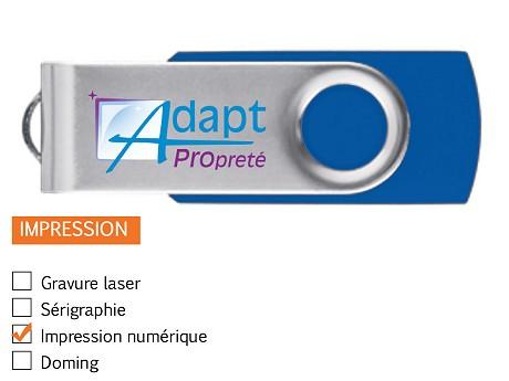 Clé USB publicitaire Express TWISTER
