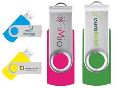 Clé USB publicitaire TWISTER