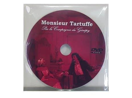 Duplication DVD en pochette plastique