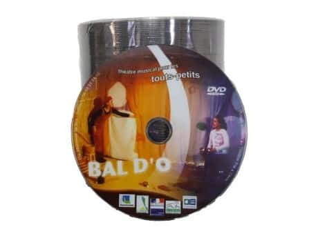 duplication DVD par gravure en spindle