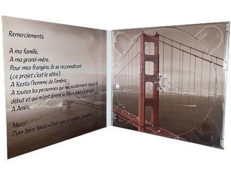 digIpack 2 volets pour CD