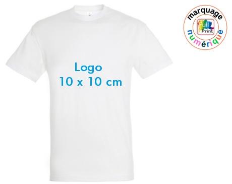 tee-shirt publicitaire delai express 10x10
