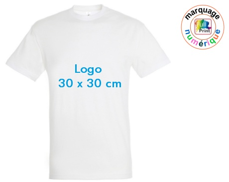 tee-shirt publicitaire delai express 30x30