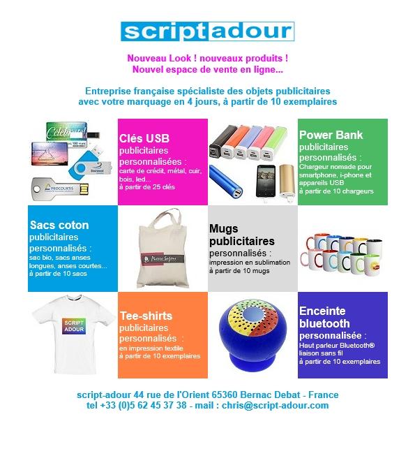vente en ligne objets publicitaires