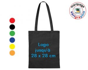 sac coton publicitaire couleur