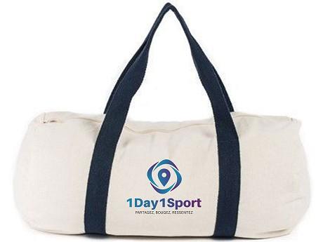 sac de sport publicitaire personnalisé en coton