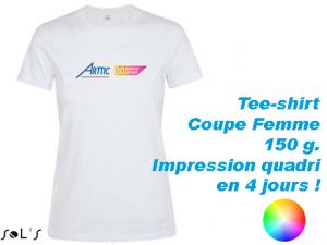 tee shirt personnalisé femme regent