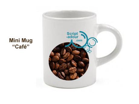 mini mug personnalisé
