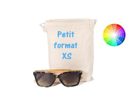 Pochon publicitaire coton format XS