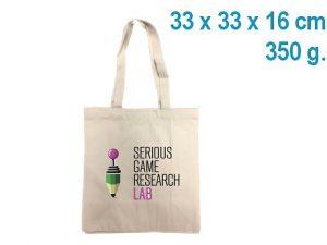 petit sac cabas coton publicitaire personnalise