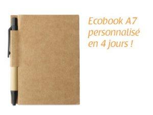 carnet de notes ecobook a7