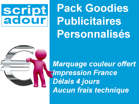 pack goodies publicitaire