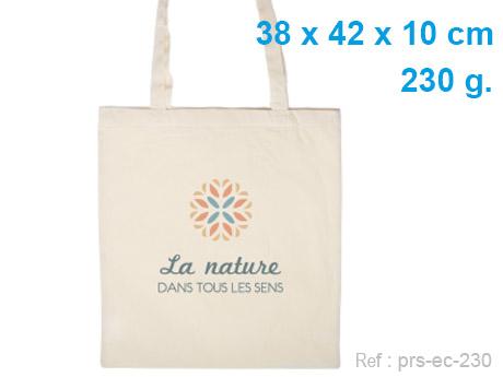 sac cabas publicitaire coton