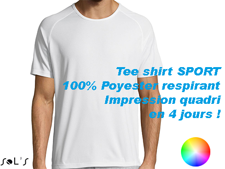 tee-shirt publicitaire SPECIAL SPORT