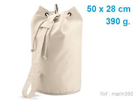 sac marin publicitaire 390 g