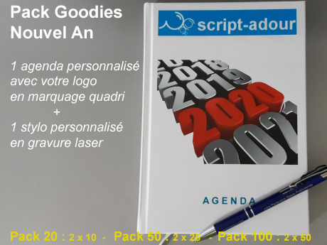 goodies publicitaires Nouvel An