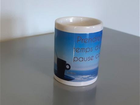 tasse à café expresso personnalisée