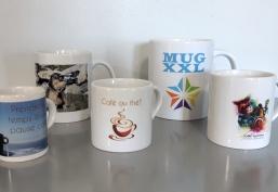 mugs publicitaires personnalisés