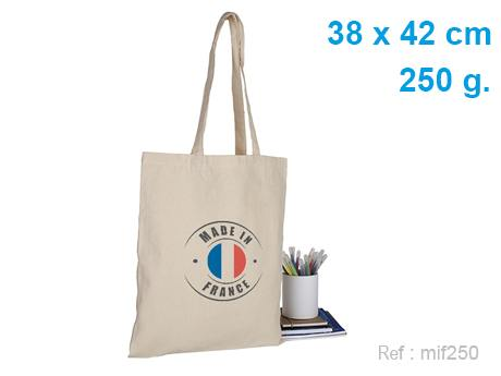 tote bag made in france 250 g