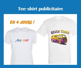 Tee-shirt publicitaires personnalisées