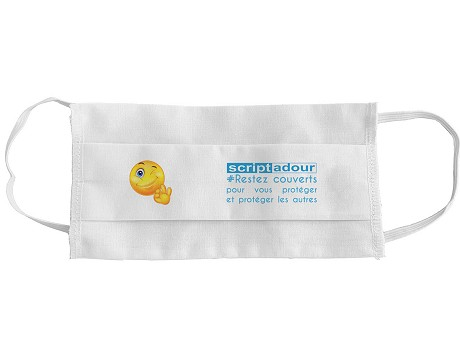 Masque anti projection SOLO Coton