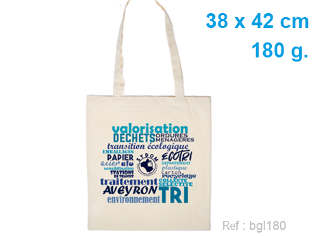 tote bag coton publicitaire 180 g