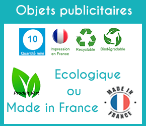 Objets publicitaire made in France écologiques
