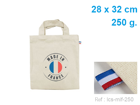 Petit sac publicitaire made in france