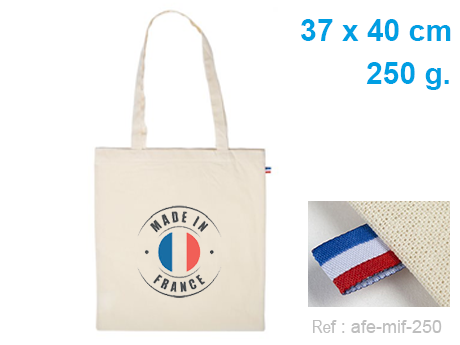 Tote bag coton MADE IN FRANCE